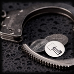 Handcuff Key coin